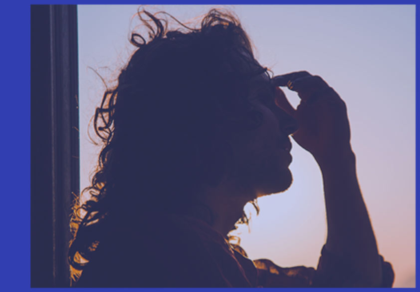 Representational Image of a person experiencing a migraine headache | Lifestyle Healing Institute®